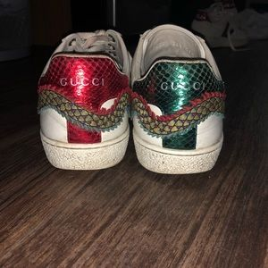Gucci Shoes - RARE Gucci Ace Sneakers w/ dragon embroidering